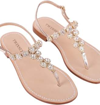 Twin-Set TwinSet Gold Sandals
