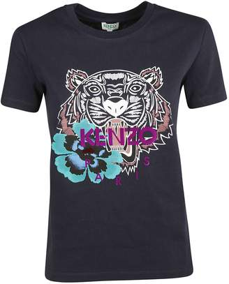 Kenzo Indonesian Flower Tiger T-shirt