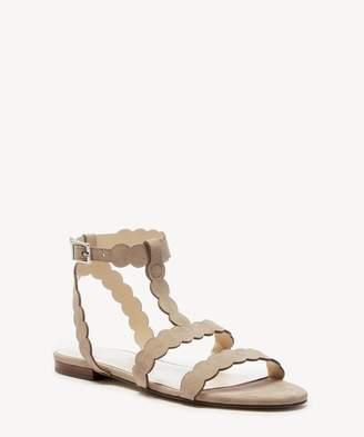 Sole Society Maladee T- Strap Flat Sandal