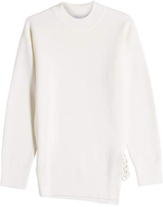 Carven Side Chain Wool Pullover