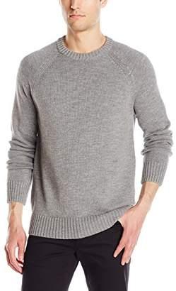 Michael Stars Men's Crew Neck Raglan Sweater