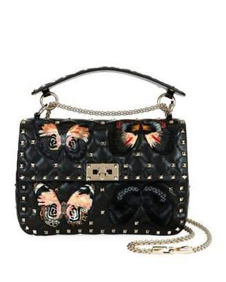 Valentino Spike.It Medium Butterfly Shoulder Bag