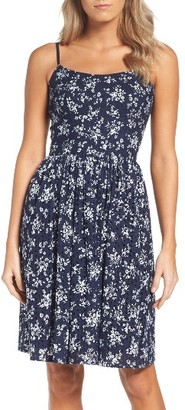 Women's Maggy London Eyelet Fit & Flare Dress $138 thestylecure.com