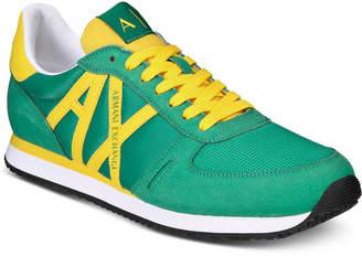 Armani Exchange Men Lace-Up Sneakers Men Shoes