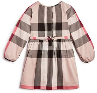 Burberry Girls' Drawstring-Waist Check Dress - Little Kid, Big Kid
