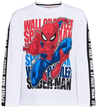 Spiderman Boys' 5973 T-Shirt, White