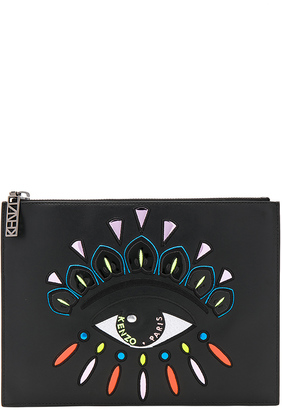 Kenzo Icons Eye Pouch $275 thestylecure.com