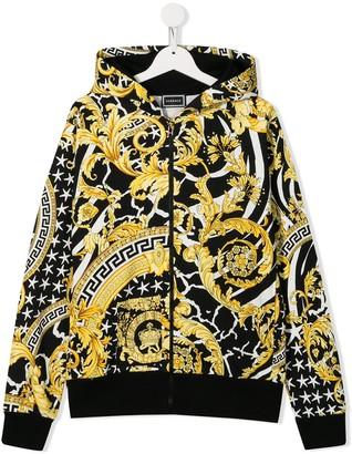 Versace TEEN hooded sweatshirt