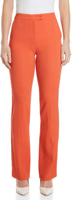 Les Copains Coral High-Waisted Pants