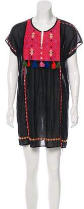 Joie Embroidered Mini Dress w/ Tags