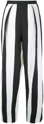 Lee Edeline striped cropped trousers