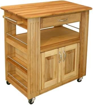 Catskill Craft Heart of the Kitchen Island Kitchen Cart