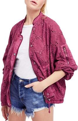 Free People Daisy Jane Bomber Jacket