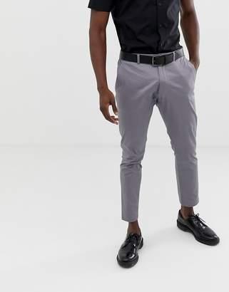 Esprit slim fit suit trouser in grey