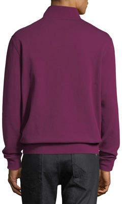 Bugatchi Pullover Half-Zip Jacket