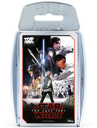 Star Wars Top Trumps Premium Episode 8 Metallic Version