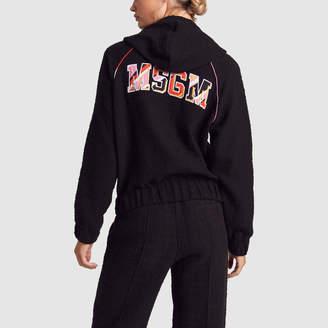 MSGM Tweed Sweatshirt