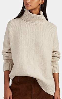 Nili Lotan Women's Brently Cashmere Turtleneck Sweater - Lt. Taupe