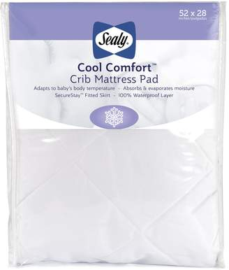 Sealy Cool Comfort Crib Mattress Pad