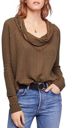 Free People Wildcat Thermal Sweater