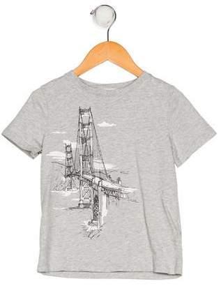 Burberry Boys' Printed Short Sleeve Shirt