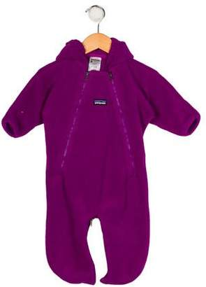 Patagonia Girls' Hooded Fleece All-In-One