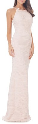 Women's Carmen Marc Valvo Infusion Mermaid Gown $425 thestylecure.com