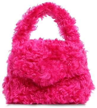 Moschino Mohair Top Handle Bag