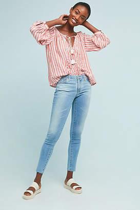 AG Jeans Low-Rise Denim Leggings