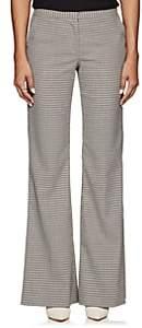 Prabal Gurung Women's Houndstooth Wide-Leg Trousers - Ecru Multi