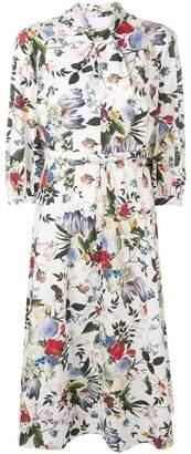 Erdem Adrienne floral print dress
