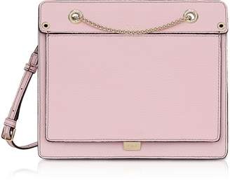 Furla Like Small Leather Crossbody Bag w/Chain Strap