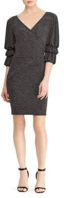 Lauren Ralph Lauren Three-Quarter Sleeve Day Dress