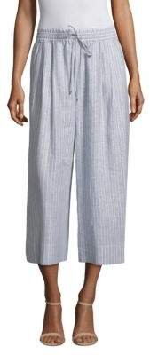 Lafayette 148 New York Striped Linen Pants