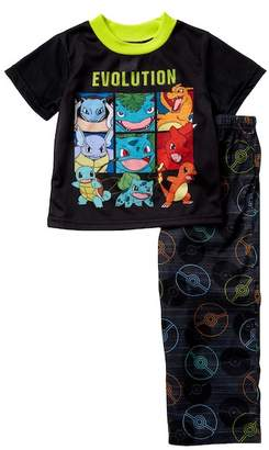 Pokemon AME Evolution Pajama Set (Little Boys & Big Boys)