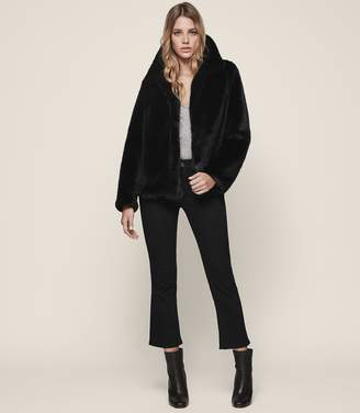Reiss Orsa Faux-Fur Coat