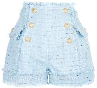 Balmain High Waist Shorts