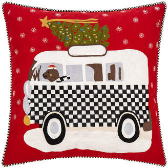 Mackenzie Childs Home For The Holidays Cushion