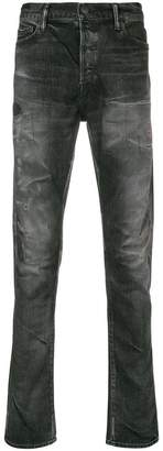 John Elliott distressed stone washed jeans
