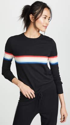 Spiritual Gangster Stripe Sweater