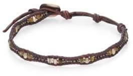 Chan Luu Labradorite& Leather Bracelet