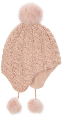Accessorize Cable Knit Chullo Hat