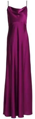 Diane von Furstenberg Draped Satin Gown