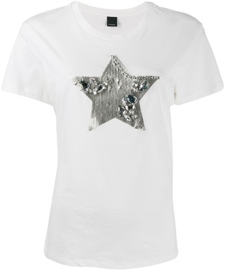 Pinko embellished star T-shirt