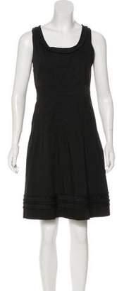 Tory Burch Sleeveless A-Line Dress