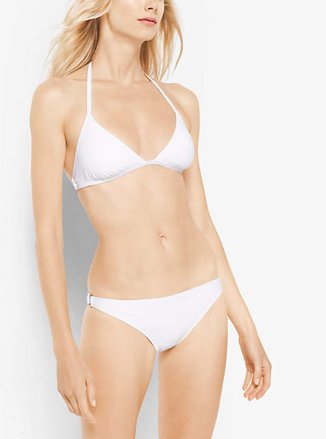 Michael Kors Ring-Trim Triangle Bikini