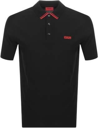 HUGO Dyler 193 Polo T Shirt Black