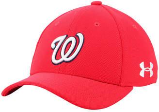Under Armour Boys' Washington Nationals Adjustable Blitzing Cap