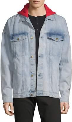 Russell Park Hooded Denim Jacket