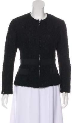 Dolce & Gabbana Lace Zip-Up Jacket